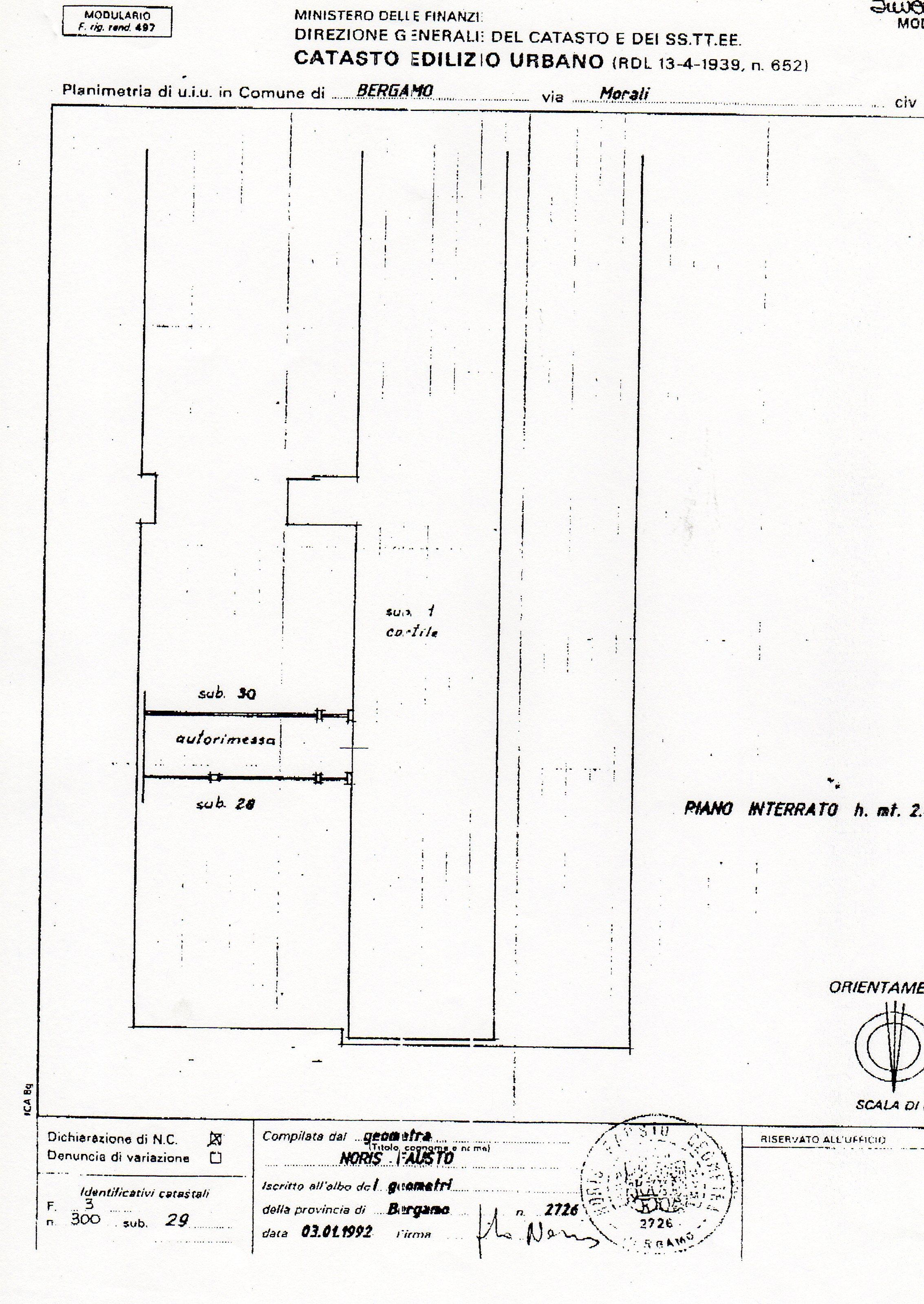 autorimessa – garage – box vicinanze nuovo ospedale